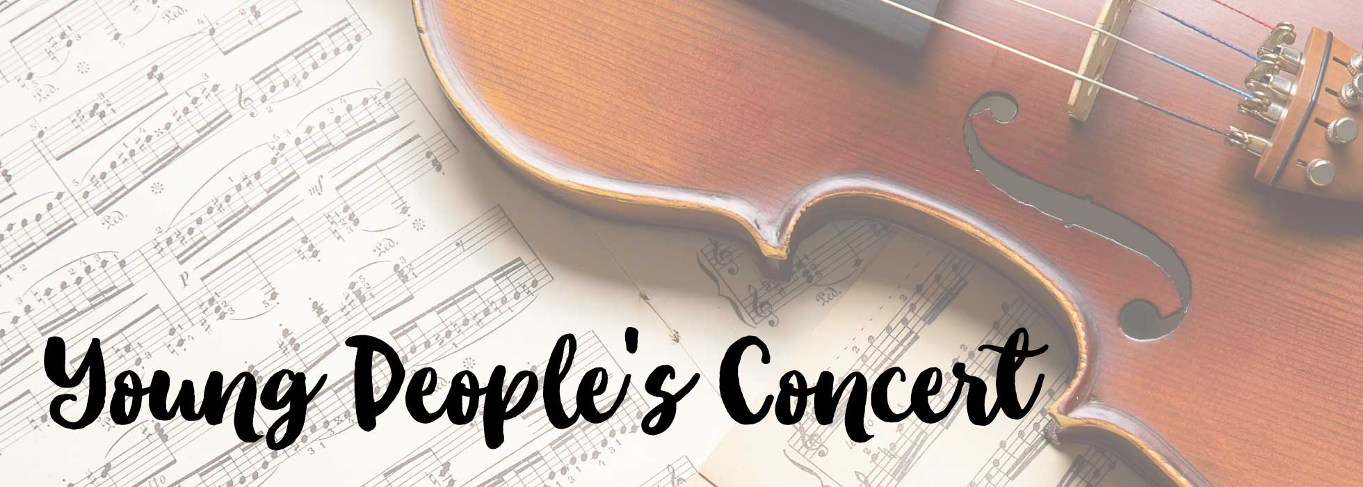 Young People's Concert This Sunday