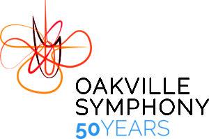 Oakville Symphony 50th logo