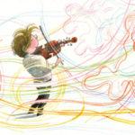 Dance of the Violin illustration