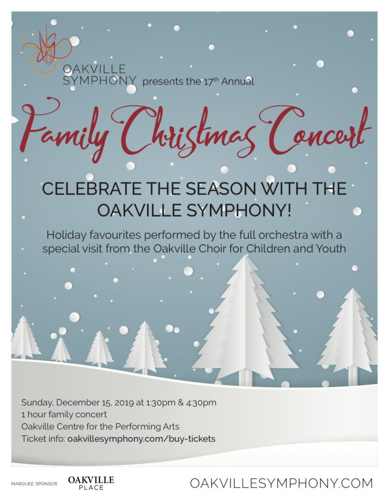 Family Christmas Concert poster